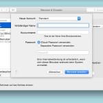 OSX: Zusätzliches Benutzerkonto anlegen