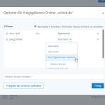 Dropbox: Eigentümer eines freigegebenen Ordners ändern