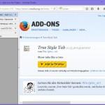 Vertikale Tabs im Firefox-Browser verwenden