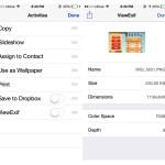 Exif-Daten in der Fotos-App von iPhone und iPad anzeigen