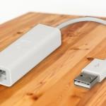 Laptops an das Kabel-Netzwerk anschließen