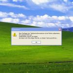"""Fehler-Meldung """"Zugriff verweigert"""" (0x80070005) beheben"""