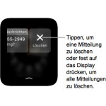 Apple Watch: Alle Benachrichtigungen löschen