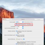 OS X El Capitan: Menü-Leiste automatisch ausblenden