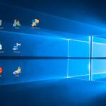 Windows10: Abstand der Desktop-Symbole ändern