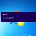 Windows-10-Upgrade nach Abbruch erneut starten