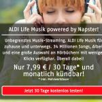 Aldi im Vergleich zu Spotify, Apple Music, Deezer und Co.