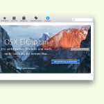 OS X El Capitan im Mac App Store ausblenden