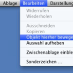 Mac OS X Lion: Dateien nachträglich verschieben statt kopieren