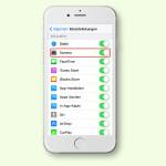 iOS: Fehlendes Kamera-Symbol wieder sichtbar machen