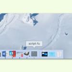 GIMP: Das Rätsel um den zweiten Button im Dock
