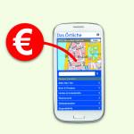 Standort des nächsten Geld-Automaten mobil herausfinden