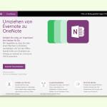 GRATIS-Tool: Notizen von Evernote nach OneNote übernehmen