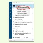 Windows 10: Programme per Cortana als Admin ausführen