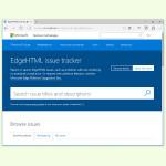 Fehler im Edge-Browser an Microsoft melden