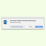 Nachrichten in Outlook für Mac archivieren