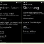 Automatisches Back-Up von Windows Phone in OneDrive erstellen