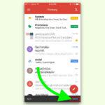 Gmail am iPhone und iPad: Senden einer eMail rückgängig machen