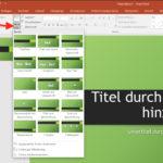 PowerPoint: Neue Folie eines bestimmten Typs erstellen