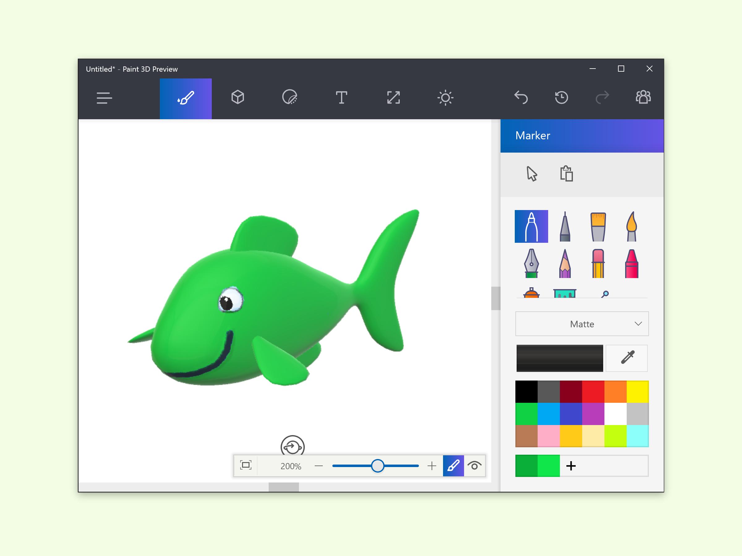 Gratis 3d version von microsoft paint jetzt ausprobieren for Paint 3d microsoft