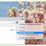 Chrome-Erweiterung schnell entfernen