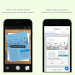 Dokumente mobil scannen