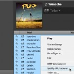 Spotify: Play-Listen als Backup sichern