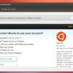 Online-Accounts in Ubuntu 12.10 Quantal Quetzal