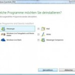 So deinstallieren Sie Windows Live Messenger