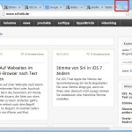 Gestapelte Tabs in Google Chrome aktivieren