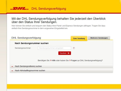 dhl nummer verfolgen tracking support. Black Bedroom Furniture Sets. Home Design Ideas