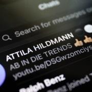 Telegram hat den Kanal von Hildmann blockiert